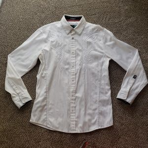 Roar White Button Up